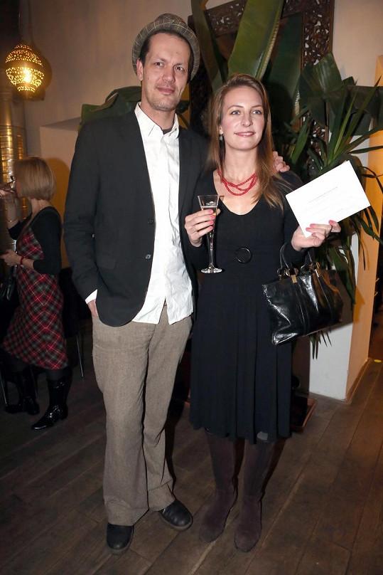 Anna Polívková s přítelem Jakubem.