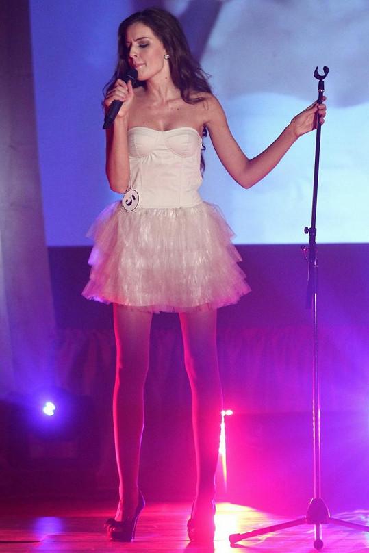 Vítězka měla jakou volnou disciplínu zpěv.