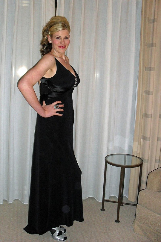 Danielle Pendlebury poté, co zhubla 63 kilo.