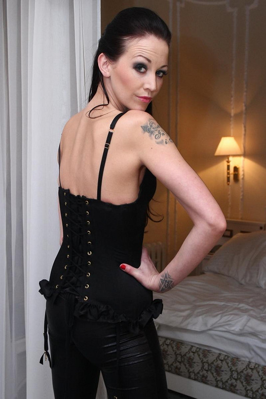 Agáta Hanychová se pochlubila svým tetováním.
