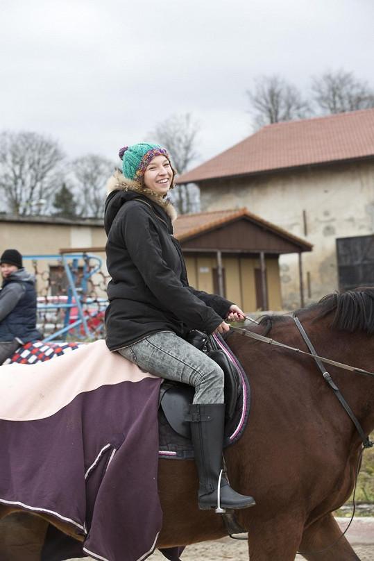 Berenice se daří v pracovním i soukromém životě, takže může být na koni.