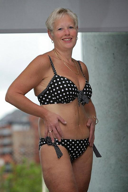 Jayne Fenney je nyní se svým tělem maximálně spokojená.