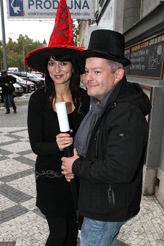 Adéla Gondíková s Alešem Hámou.