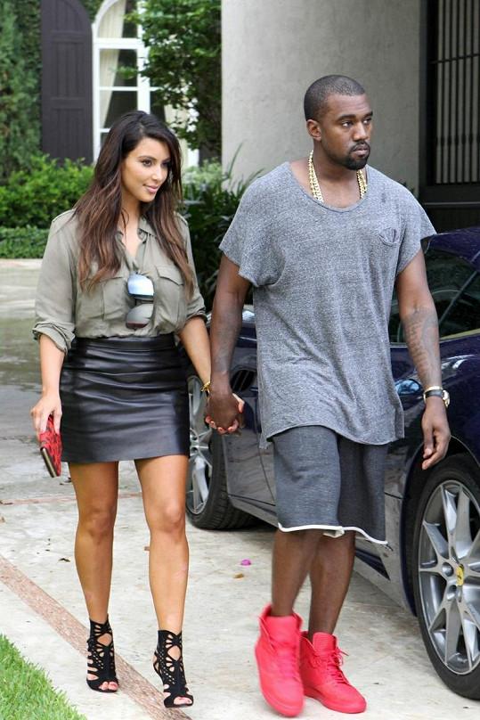 Kim se s Kanyem Westem vodila po Miami za ruce.
