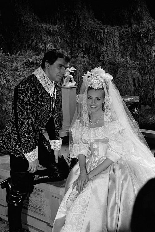 Robert a Michèle Mercier.