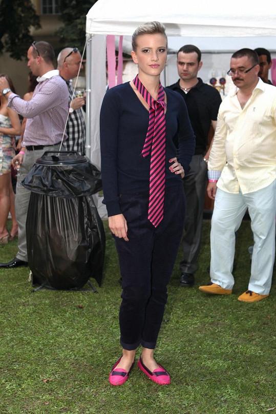 Dominika Kratinová se modelingu věnuje již od čtrnácti let.