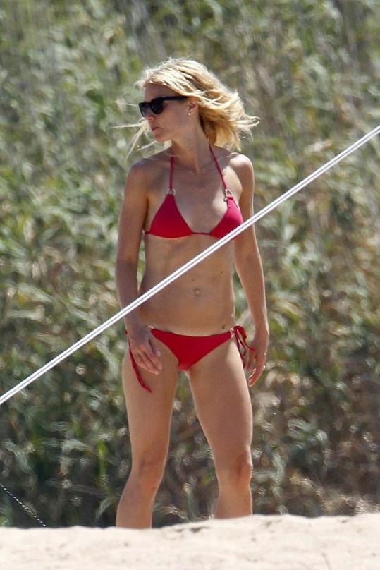 Gwyneth na svém těle tvrdě dře.