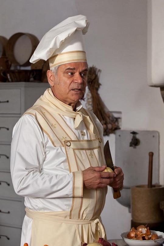 Petr Štěpánek jako kuchtík jménem Frit.