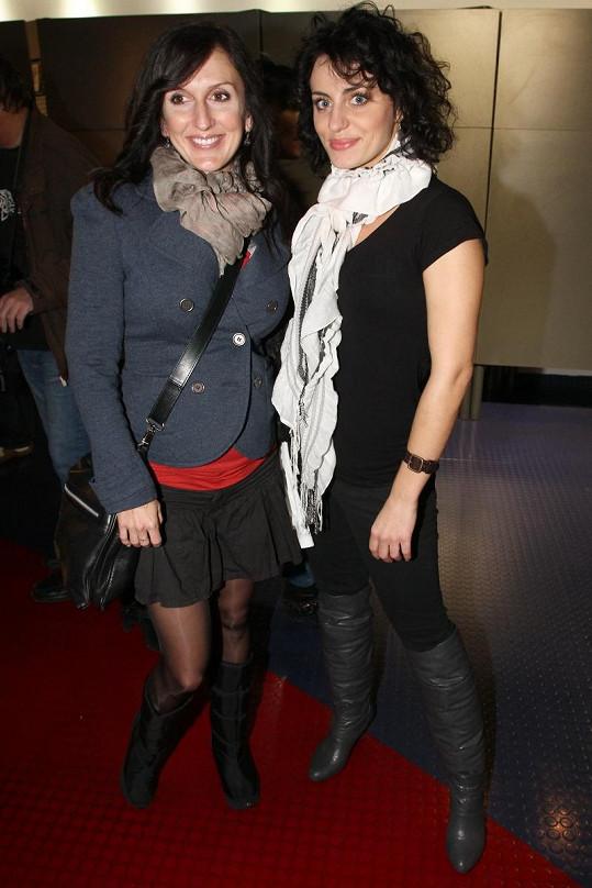 Radka Fišarová s kolegyní Markétou Procházkovou.