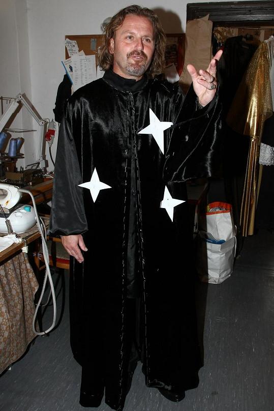 Pepa Vojtek dostal roli čaroděje.
