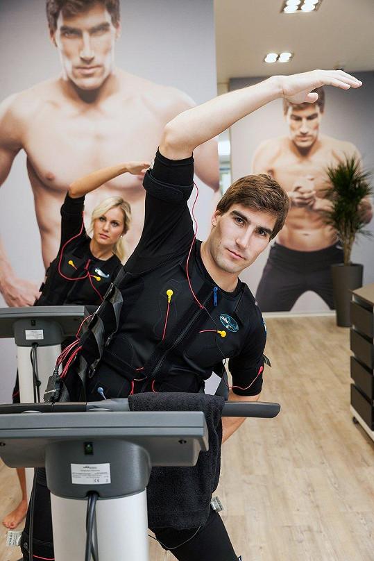 David a Denisa sdílejí vášeň pro sport.