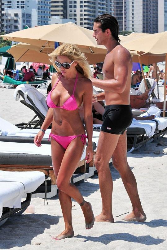 Devětatřicetiletá Sand v Miami.
