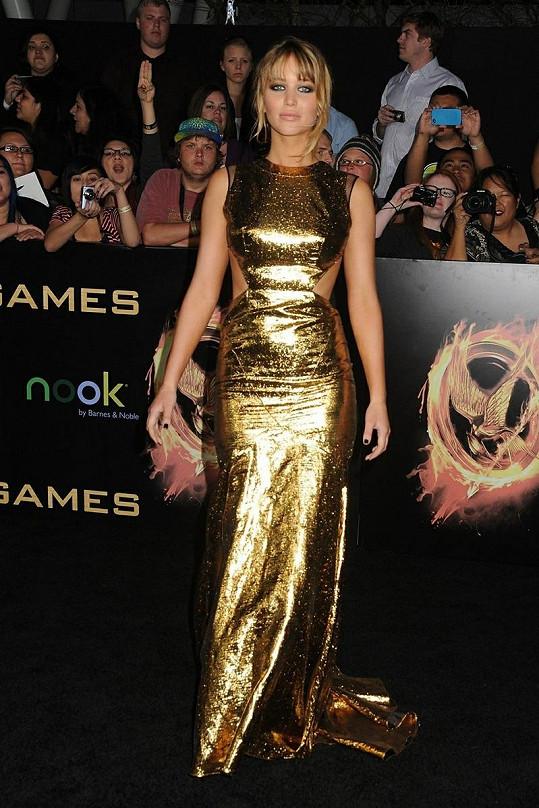 Jennifer Lawrence je velmi půvabnou herečkou.
