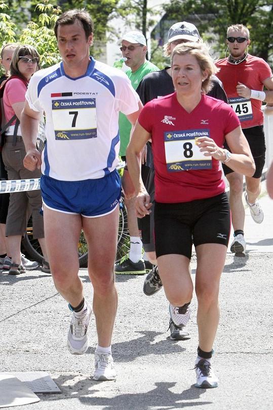 Kateřina Neumannová běžela skvěle.