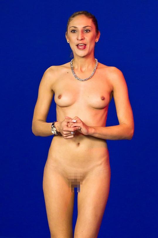 Simona Saifová se za své tělo stydět nemusí.