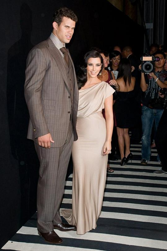 Kim Kardashian s Krisem Humphriesem v době, kdy byli oba bezhlavě zamilovaní.