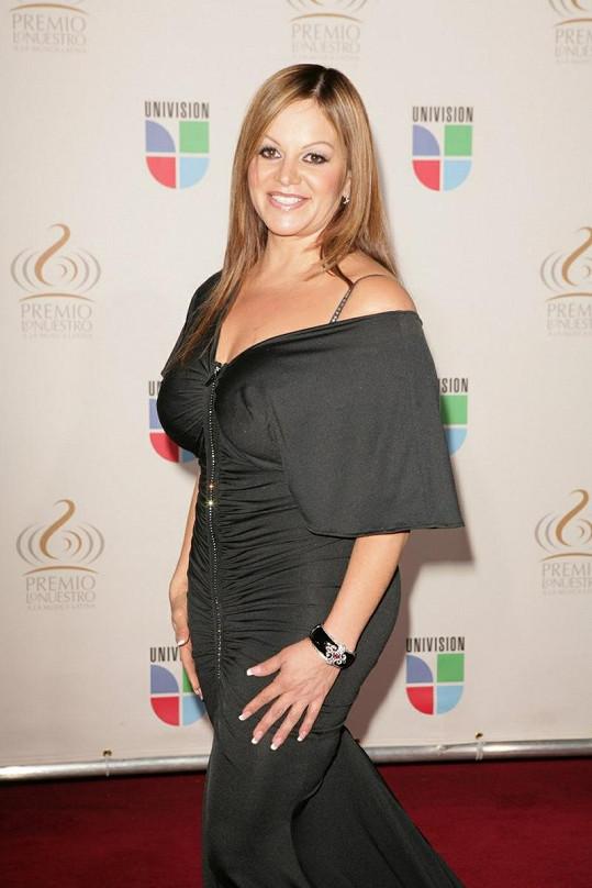 Mexicko-americká zpěvačka Jenni Rivera.