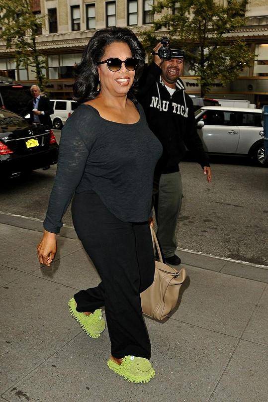 Oprah Winfrey v New Yorku.