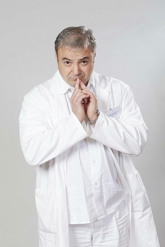 Martin Zounar v seriálu Ordinace v růžové zahradě 2.