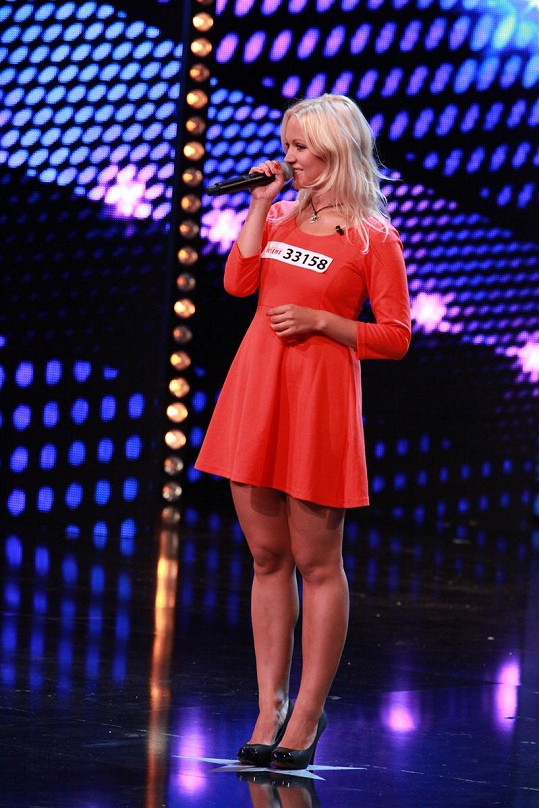 Livie Kuchařová v akci.