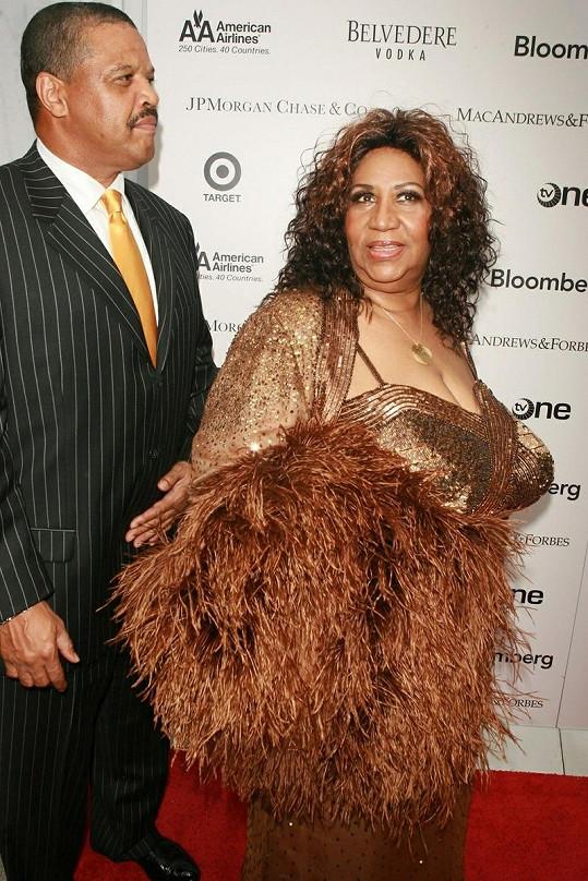 Aretha Franklin a její vyvolený William Wilkerson.