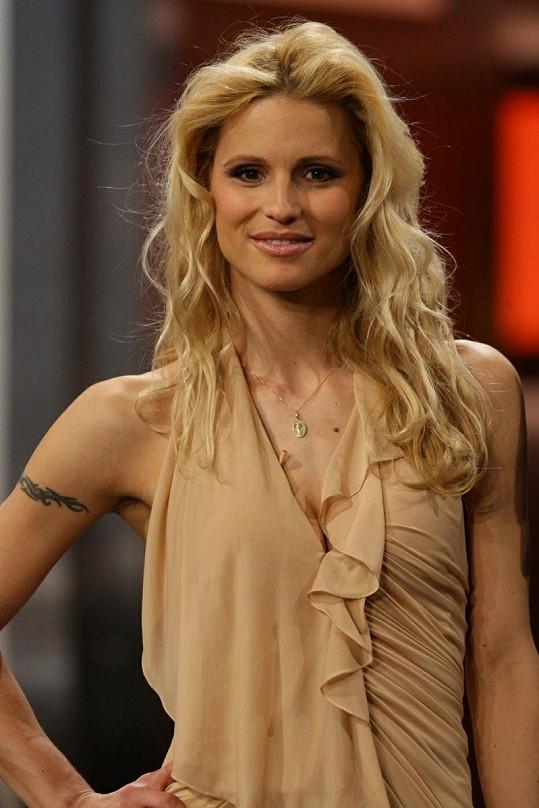Bývalá manželka Erose Ramazzottiho Michelle Hunziker.