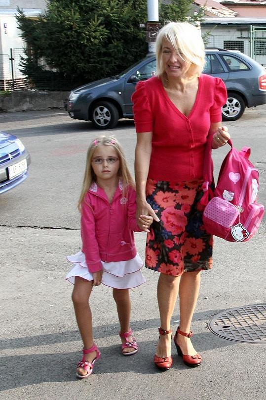Veronika Žilková se svou dcerou Kordulkou.