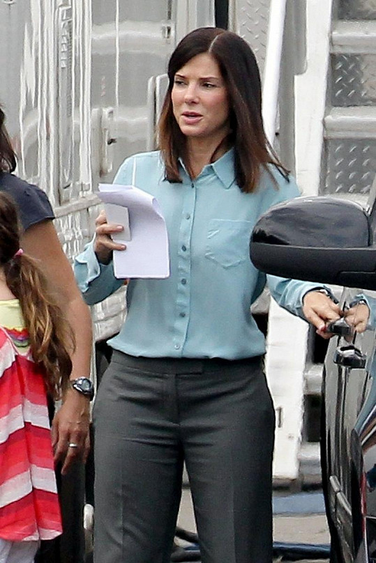 Sandra Bullock je hlavní hrdinkou filmu The Heat.