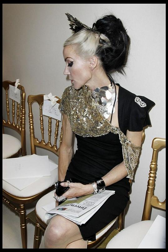 Guinness je považována mnohžmi módními návrháři za jednu z nejstylovějších žen současnosti.