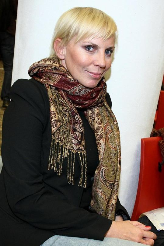 Kateřina Kornová chodila s Jandou dva roky.