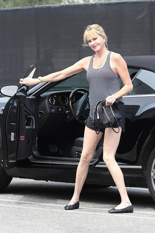 Melanie v Hollywoodu.