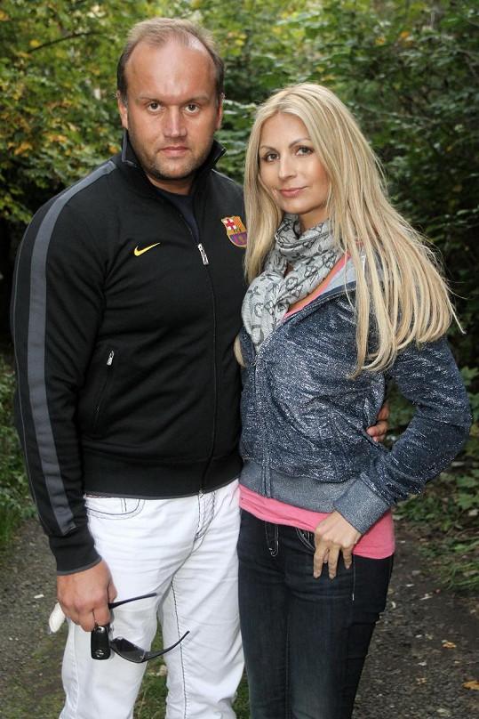 Marek Vít se svou přítelkyní Katty.