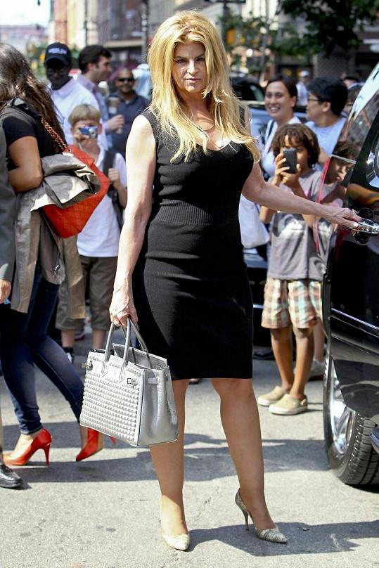 Kirstie Alley má o více než 20 kilo méně než před pár měsíci.