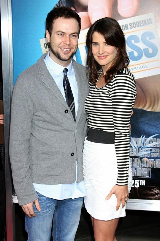 Cobie Smulders se provdala za Tarana Killmana.