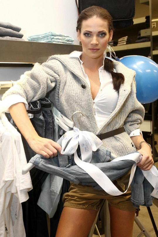 Andrea Verešová si zkoušela i další modely.