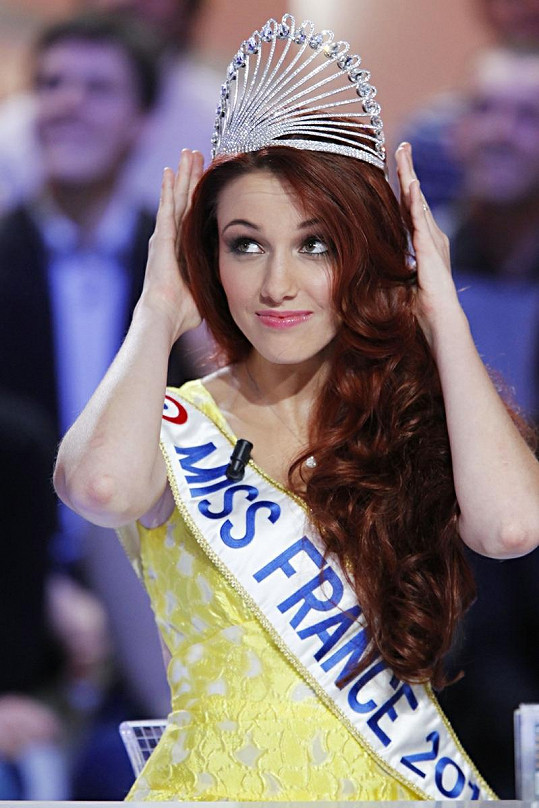 Miss France Delphine Wespiser.