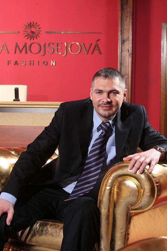 Šílený Jan Kocián v reality show Šéfka.