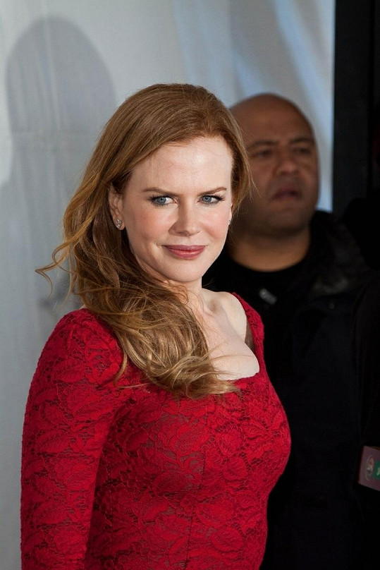 Nicole Kidman je od přírody zrzka.