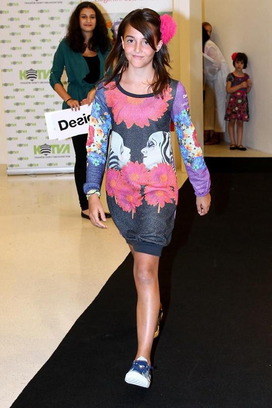 Jessica Gavriely je velmi podobná dceři Madonny.
