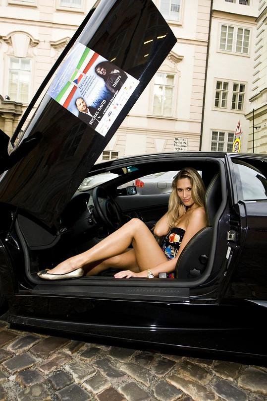 Michaela Štoudková má ráda luxus.