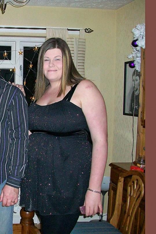 Danielle byla na škole obézní.