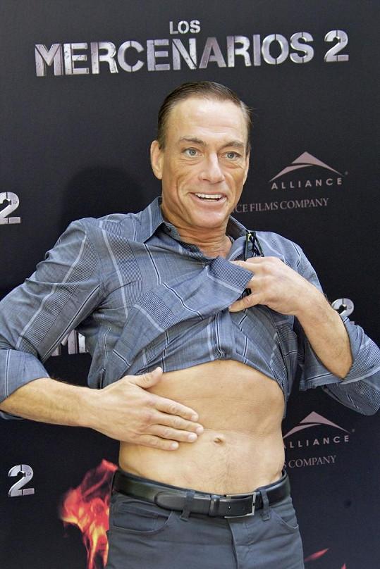 Jean-Claude Van Damme v Madridu.