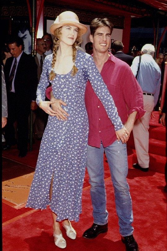 Nicole Kidman a Tom byli rozvedeni v roce 2001.