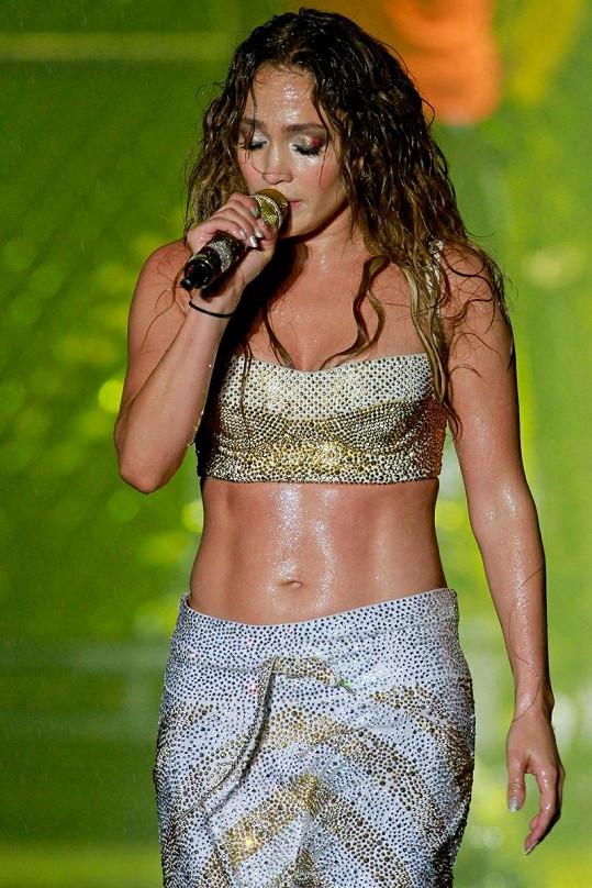 Úžasná Jennifer Lopez ze sebe vydala vše.