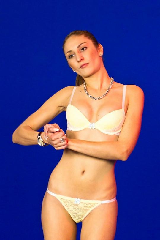 Simona Saifová stála před kamerou poprvé před osmi lety.