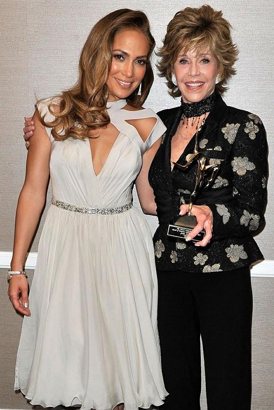 Jennifer Lopez a Jane Fonda.