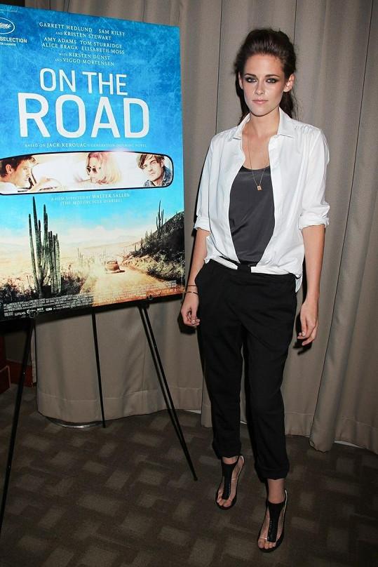 Kristen Stewart v New Yorku.