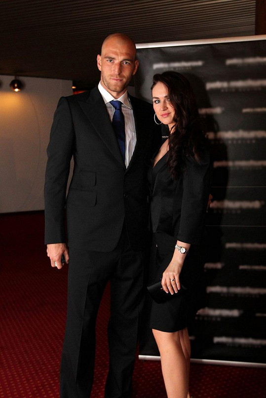 Martin Latka s manželkou Lucií v roce 2011