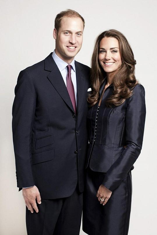 William i Catherine v modrém vypadají úžasně.