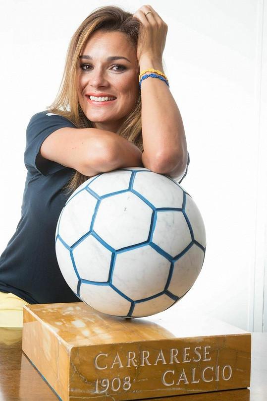 Šeredová je i po dvou dětech velmi atraktivní ženou.